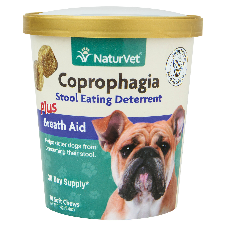 Naturvet Coprophagia Stool Eating Deterrent Dog Chews 70 Chews