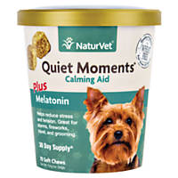 NaturVet Quiet Moments Calming Aid Dog Soft Chews