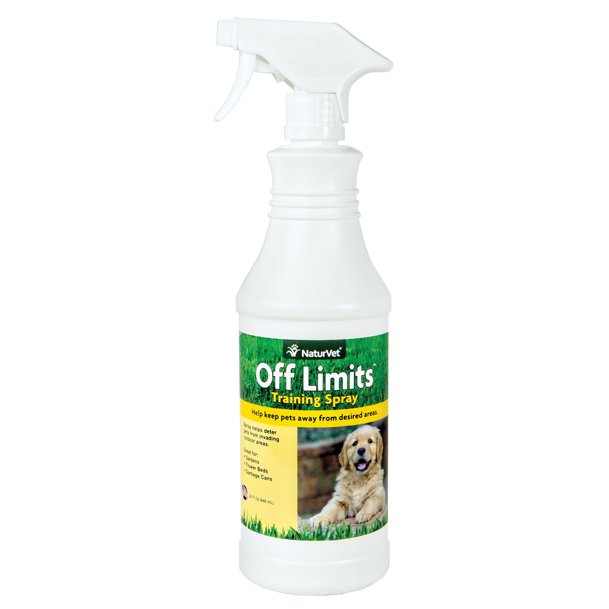 NaturVet Off Limits Dog Training Spray