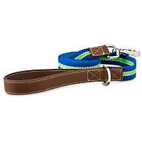 Good2Go Oxford Blue & Green Dog Leash