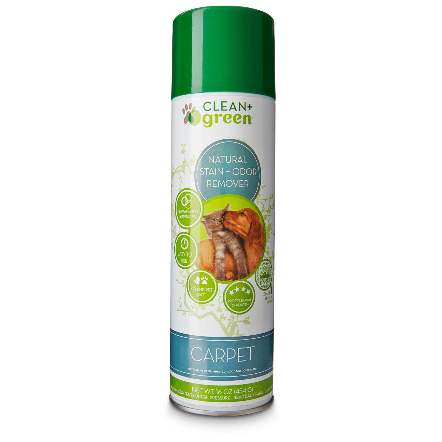 Clean + Green Carpet & Upholstery Cleaner