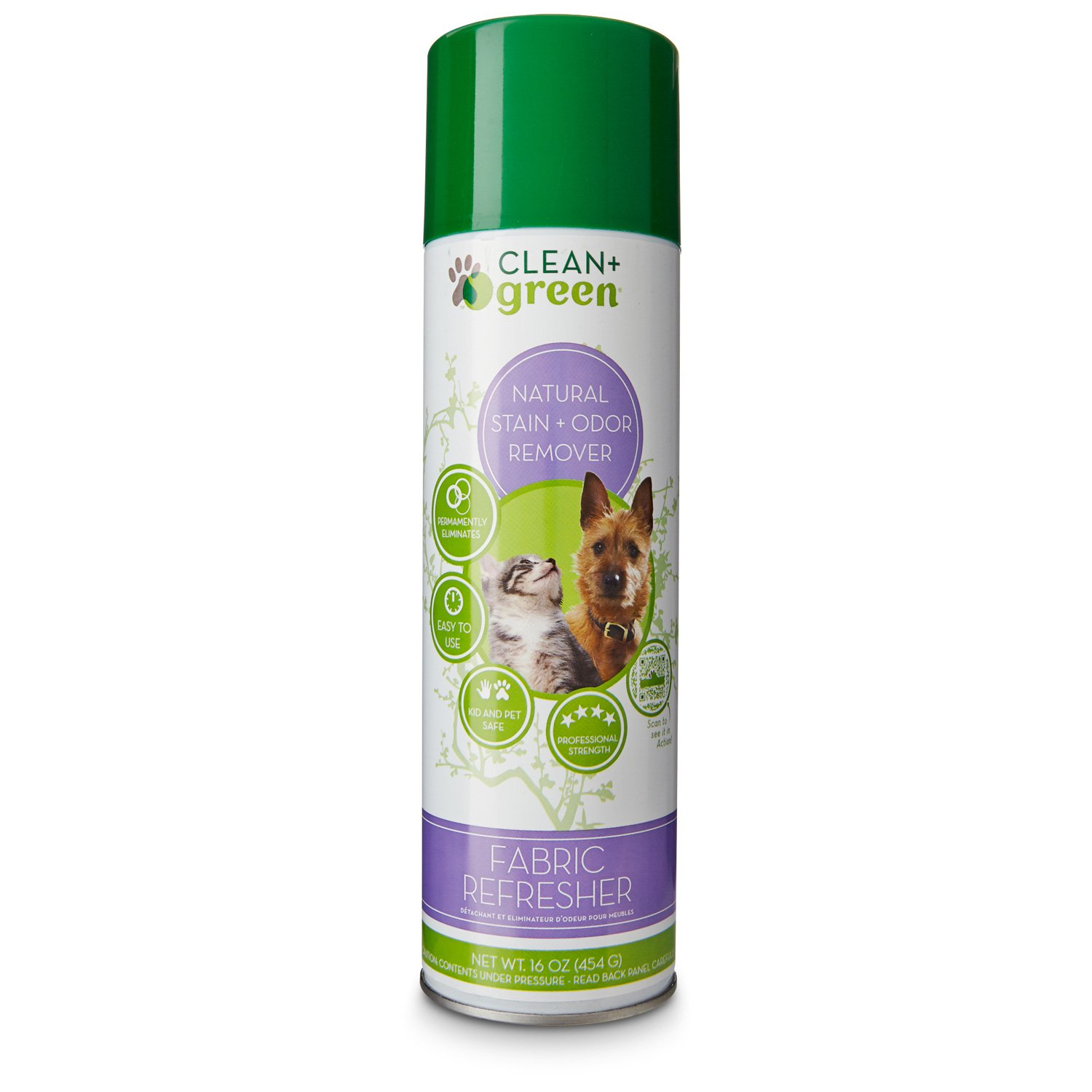 Clean + Green Fabric Refresher