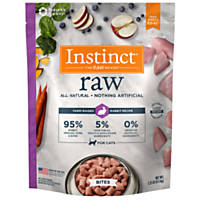 Nature's Variety Instinct Raw Rabbit Bites Frozen Cat Food