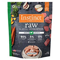 Nature's Variety Instinct Raw Lamb Medallions Frozen Dog Food