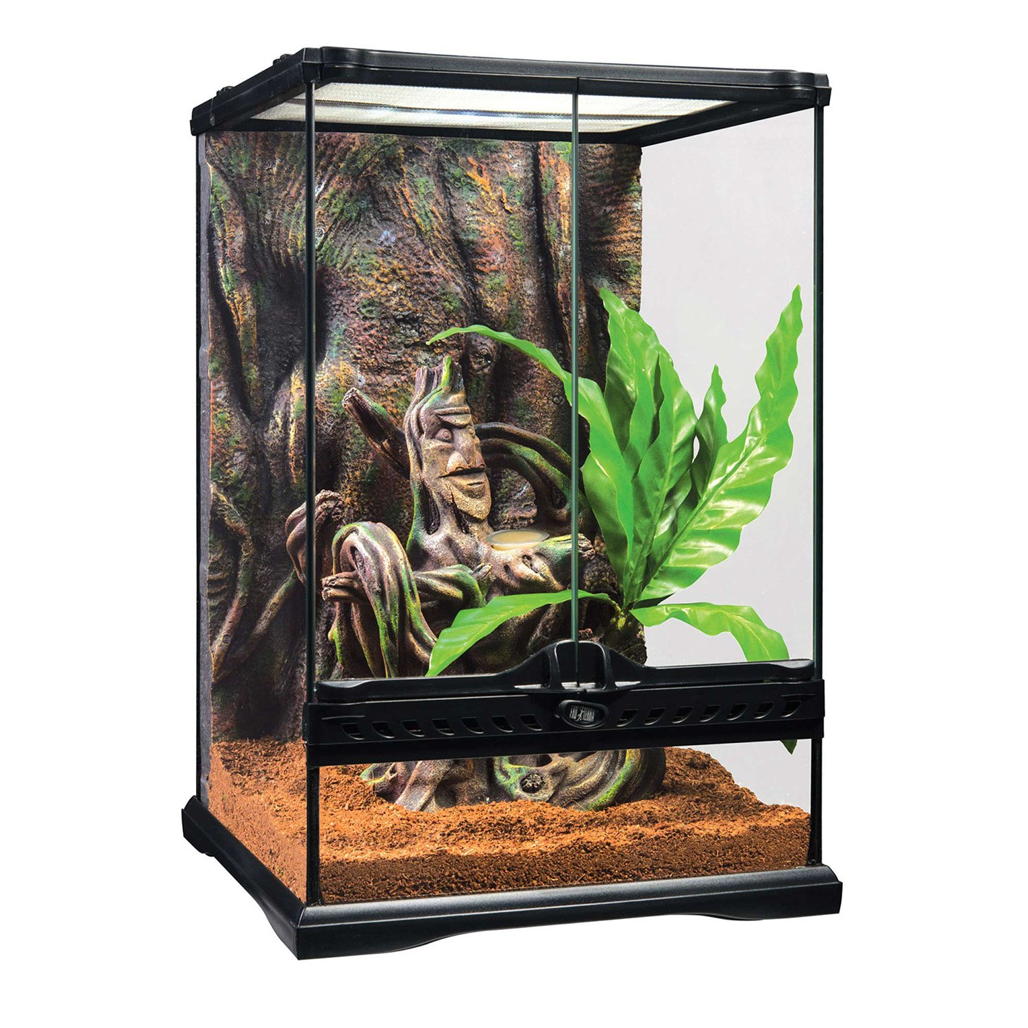 exo terra crested gecko terrarium kit petco. Black Bedroom Furniture Sets. Home Design Ideas