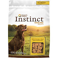 Nature's Variety Instinct Grain-Free Chicken & Cranberry Dog Biscuits