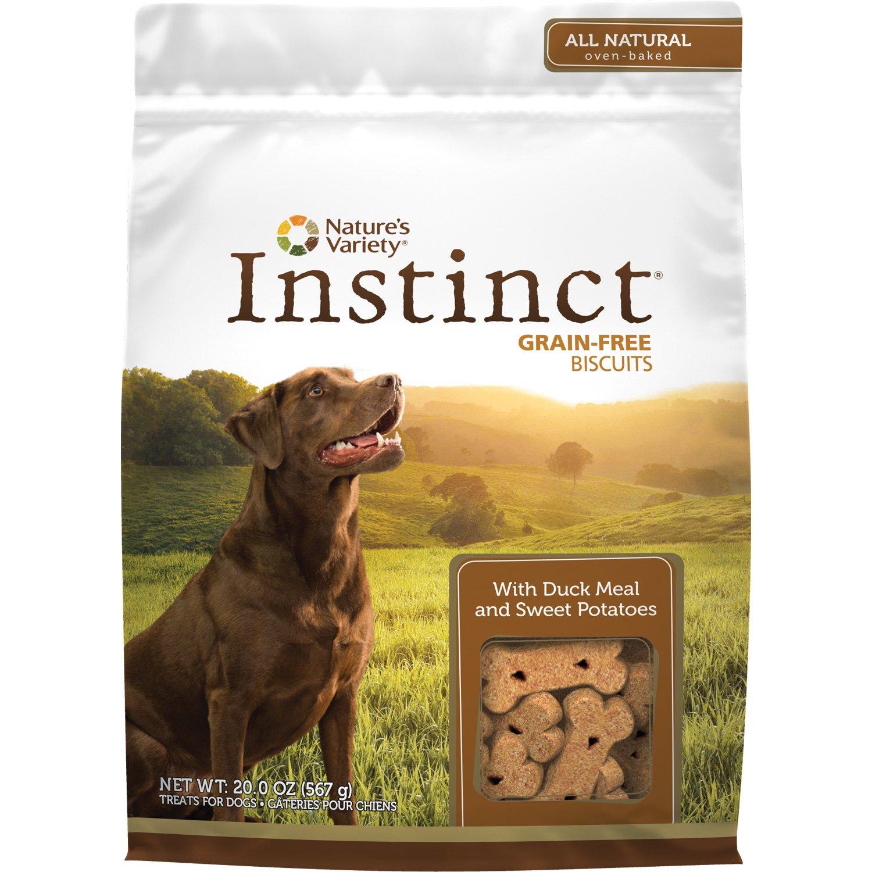 Nature's Variety Instinct Grain-Free Duck & Sweet Potato Dog Biscuits
