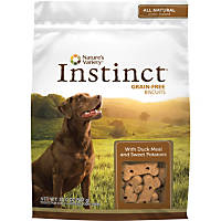 Nature's Variety Instinct Grain-Free Duck & Sweet Potato Dog Biscuits