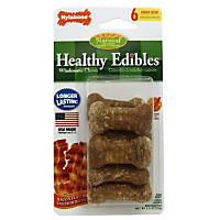 Nylabone Healthy Edibles Bacon Flavored Dog Bone Chews