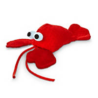 Leaps & Bounds Lobster with Catnip Cat Toy