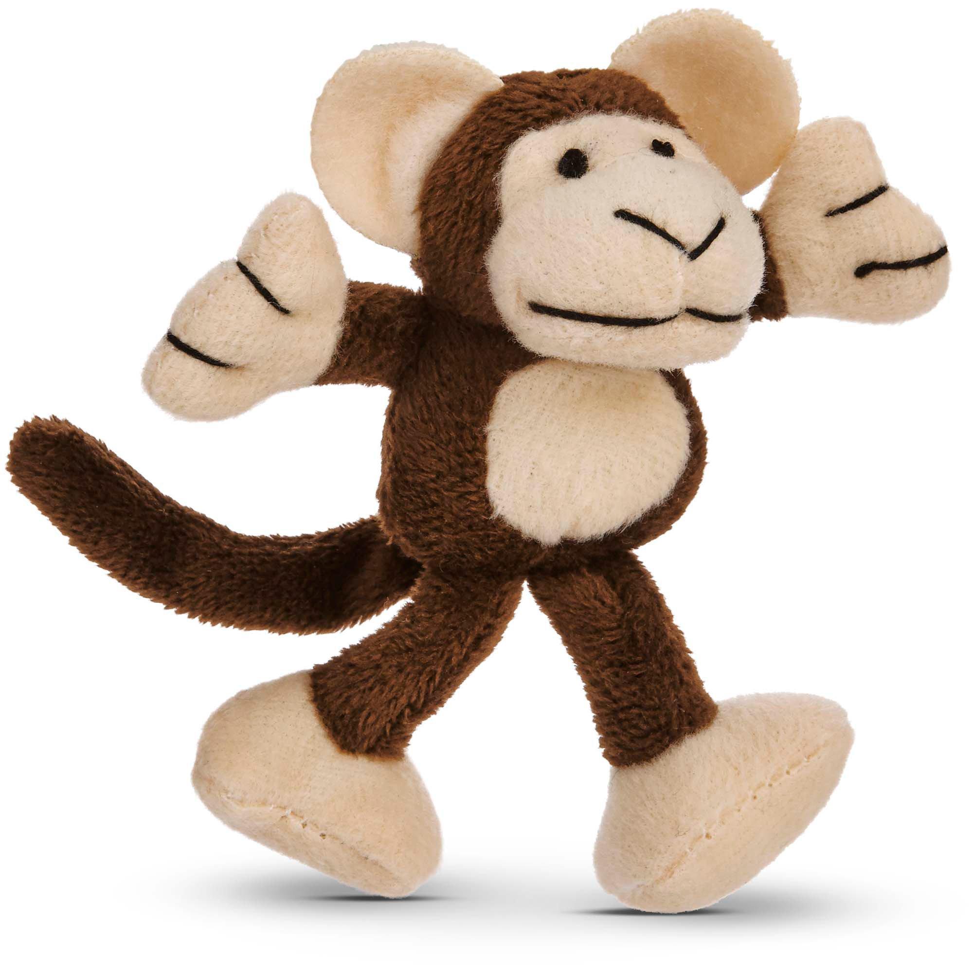 Leaps & Bounds Cuddle Monkey Catnip Cat Toy