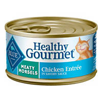 Blue Buffalo Healthy Gourmet Meaty Morsels Chicken Adult Canned Cat Food