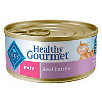 Blue Buffalo Healthy Gourmet Pate Adult Canned Cat Food, Beef