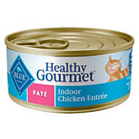 Blue Buffalo Healthy Gourmet Pate Indoor Adult Canned Cat Food, Chicken