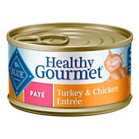 Blue Buffalo Healthy Gourmet Pate Turkey & Chicken Adult Canned Cat Food