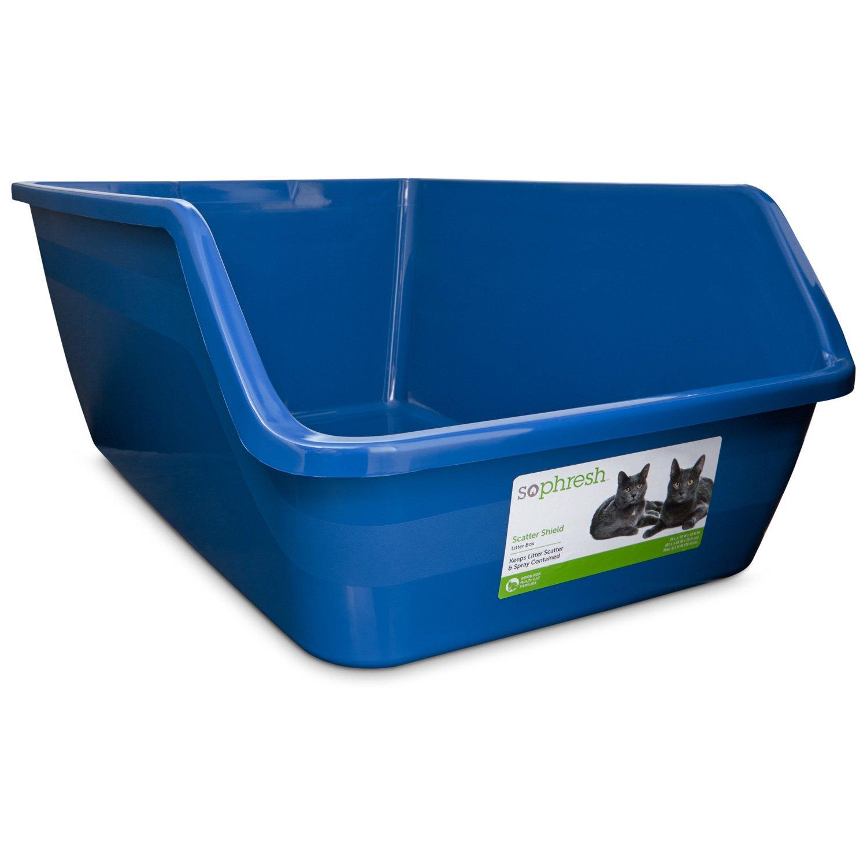 So Phresh High Back Open Litter Box
