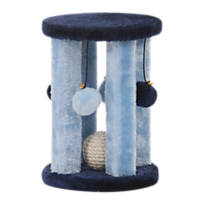 PetPals Group Doo Wopp Four Posts and Sisal Ball Scratcher