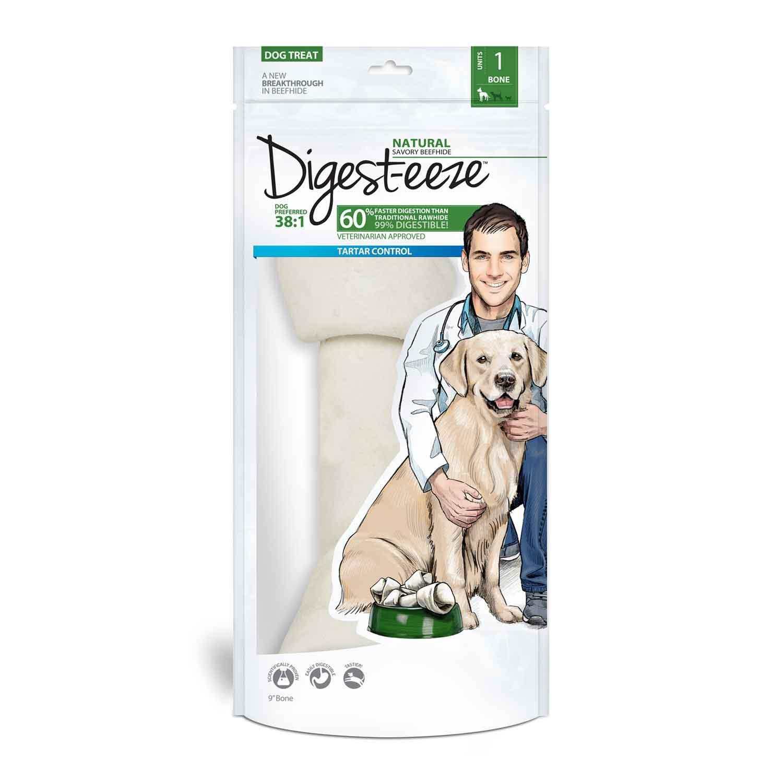 Digest-eeze Natural Dog Rawhide Bones
