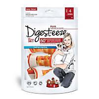 Digest-eeze Plus 4-Pack Flavored Rawhide Dog Bones