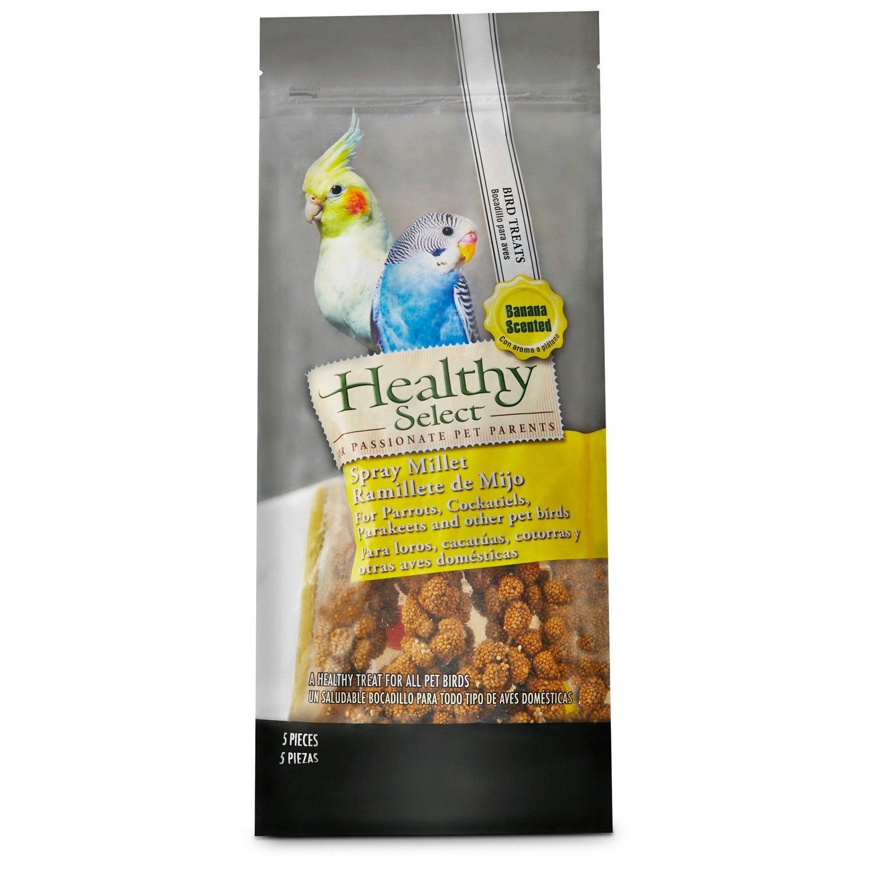 Healthy Select Spray Millet Banana Bird Treats