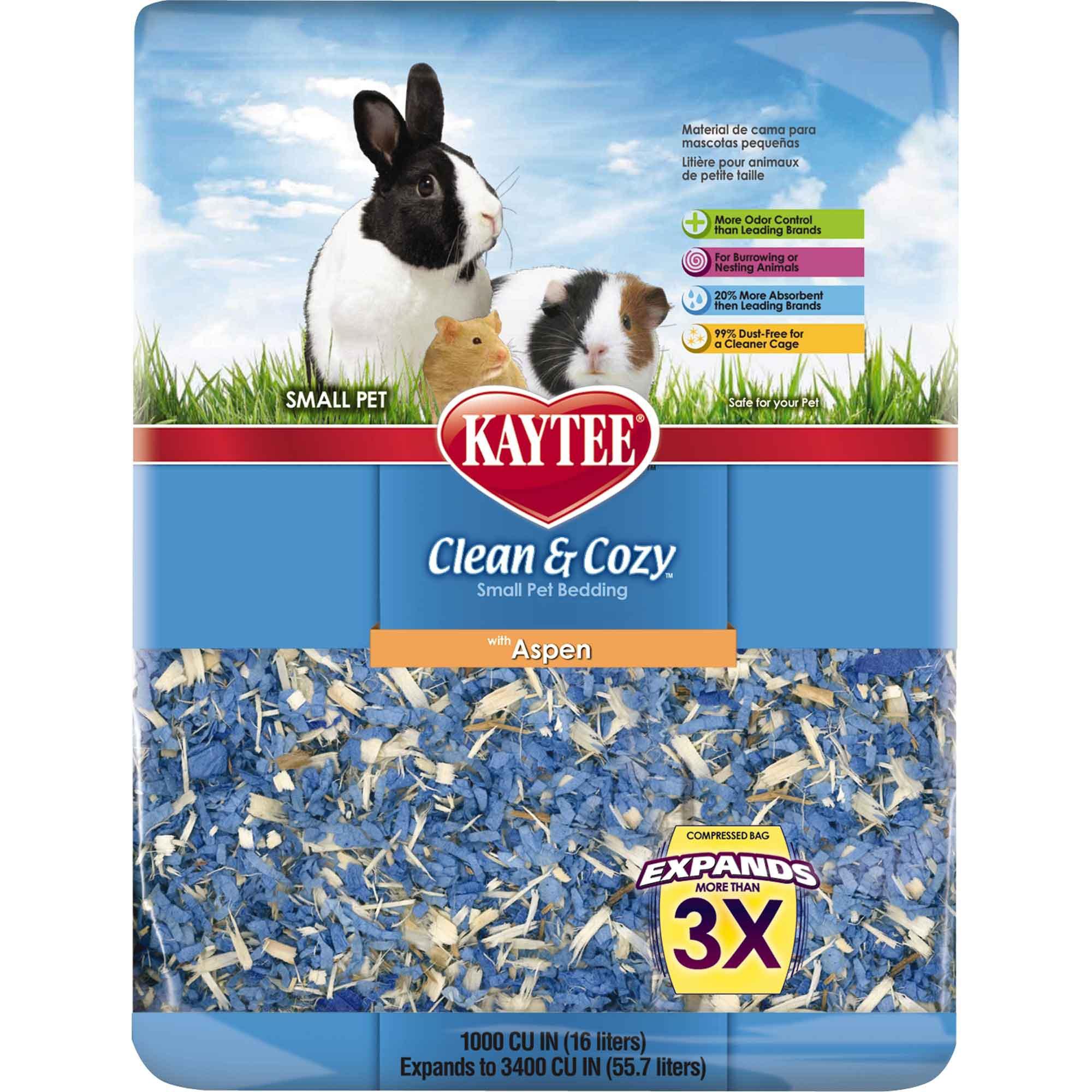 Kaytee Clean & Cozy Aspen Small Animal Bedding