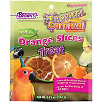 Brown's Tropical Carnival Orange Slices Bird Treats