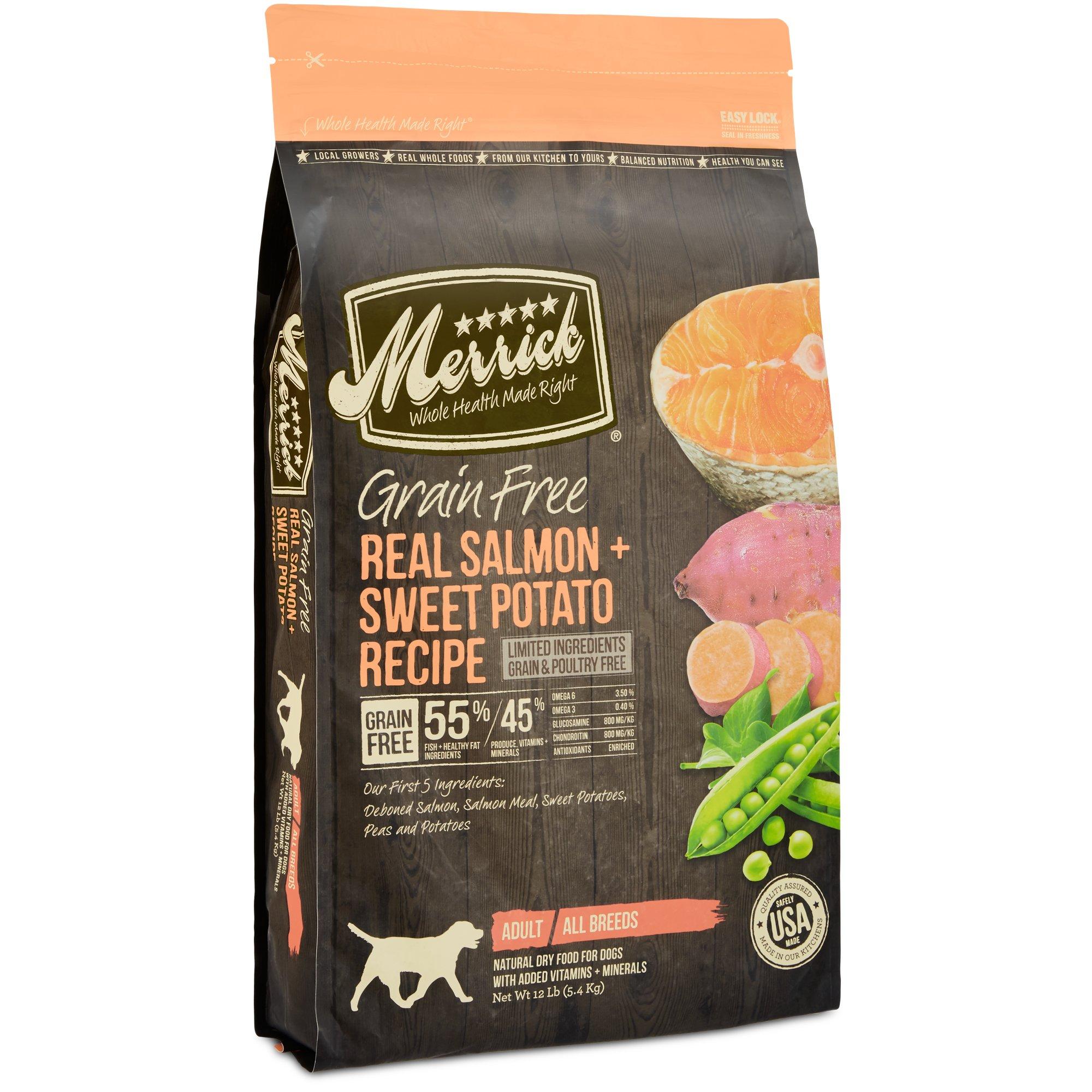 Petco Merrick Salmon And Sweet Potato Dog Food