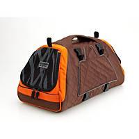 Pet Ego Jet Set Forma Frame Pet Carrier in Orange & Brown