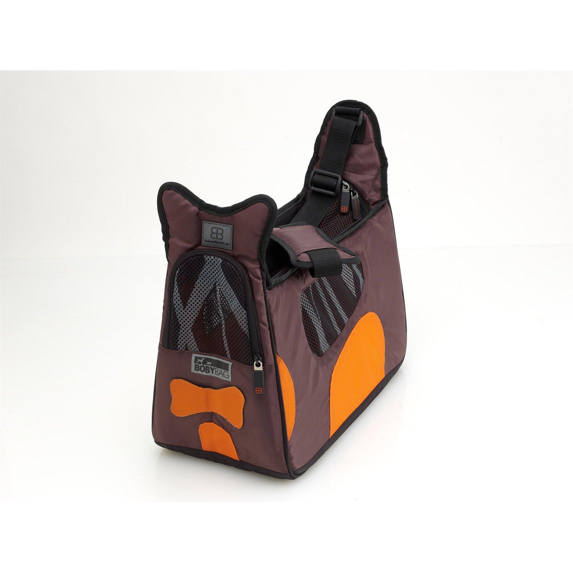 Pet Ego Boby Bag Forma Frame Pet Carriers in Brown & Orange