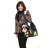 Pet Ego Boby Bag Forma Frame Pet Carriers in Black & Green
