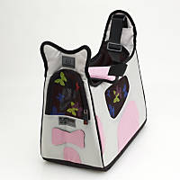 Pet Ego Boby Bag Forma Frame Pet Carriers in Gray & Pink