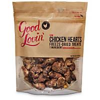 Good Lovin' Raw Chicken Hearts Freeze-Dried Dog Treats