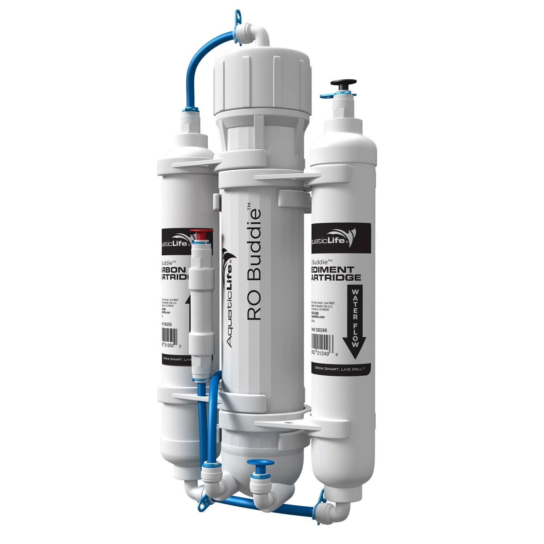 Aquatic Life RO 100 Gallon Buddie 3-Stage Reverse Osmosis System