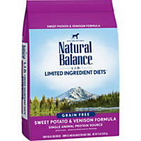 Natural Balance L.I.D. Limited Ingredient Diets Sweet Potato & Venison Dog Food