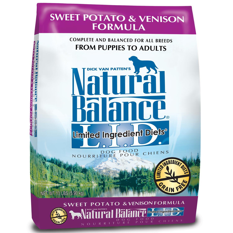 Natural Balance Dog Food Sweet Potato And Venison Ingredients