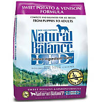 Natural Balance L.I.D. Limited Ingredients Diets Sweet Potato & Venison Dog Food
