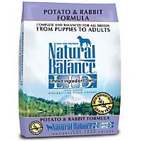 Natural Balance L.I.D. Potato & Rabbit Dog Food