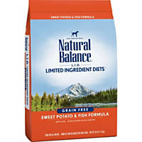 Natural Balance L.I.D. Limited Ingredient Diets Sweet Potato & Fish Dog Food