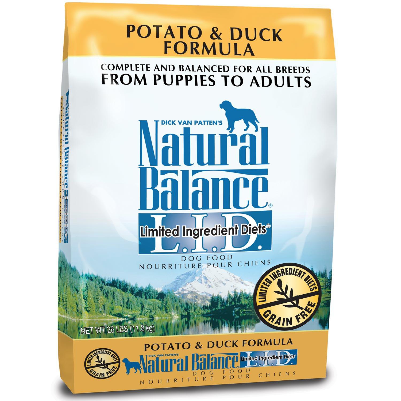 Natural Balance L.I.D. Grain-Free Potato & Duck Dog Food
