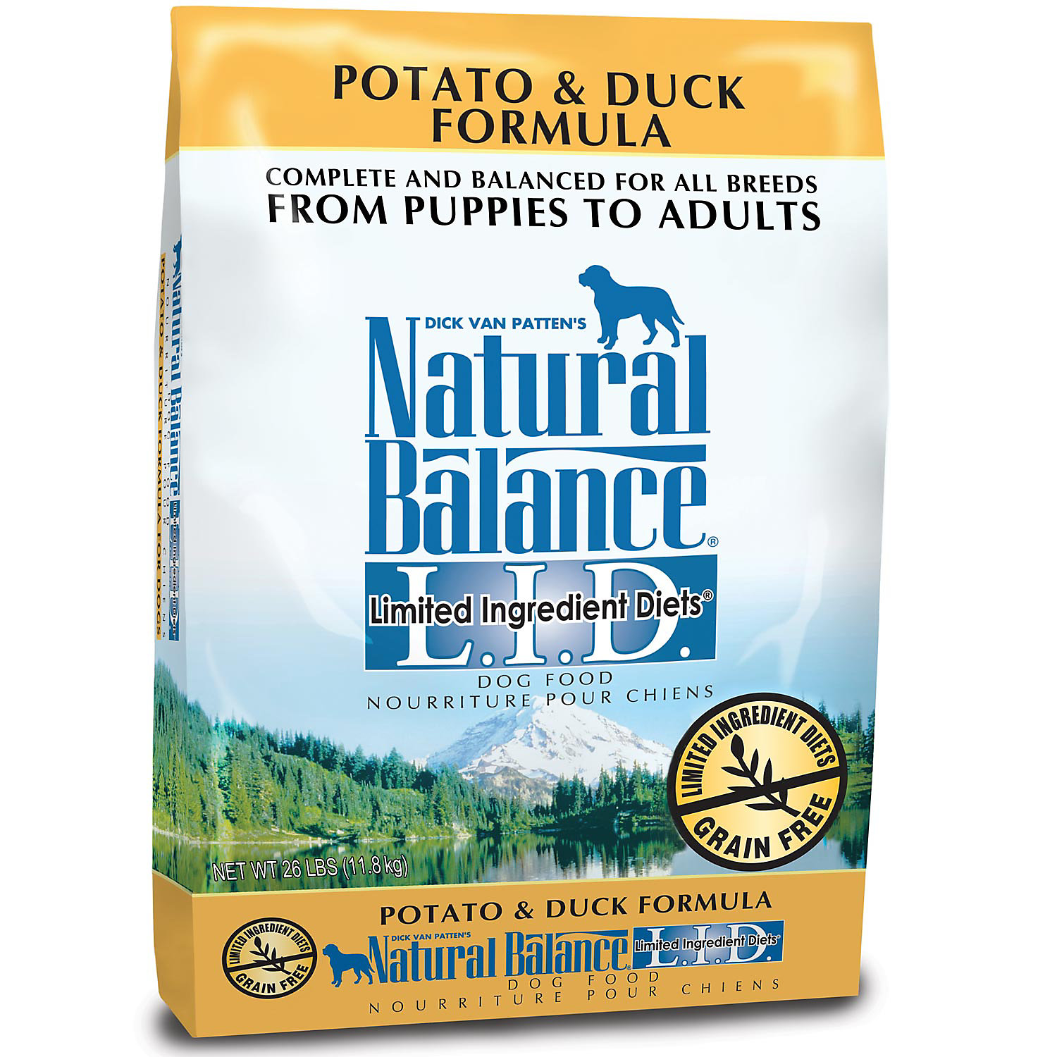 Dry Dog Foods With Duck