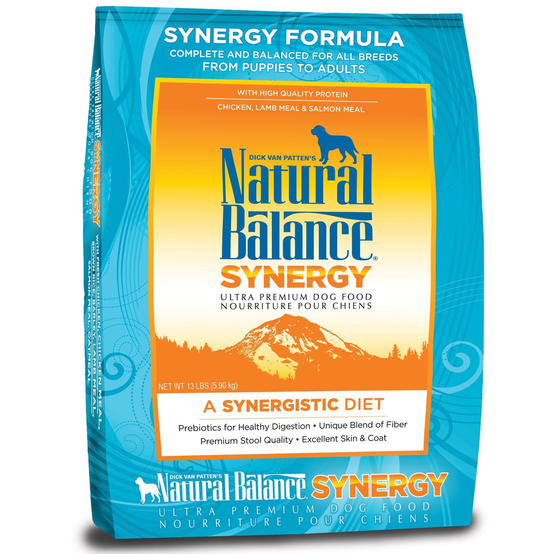 Natural Balance Synergy Ultra Premium Dog Food