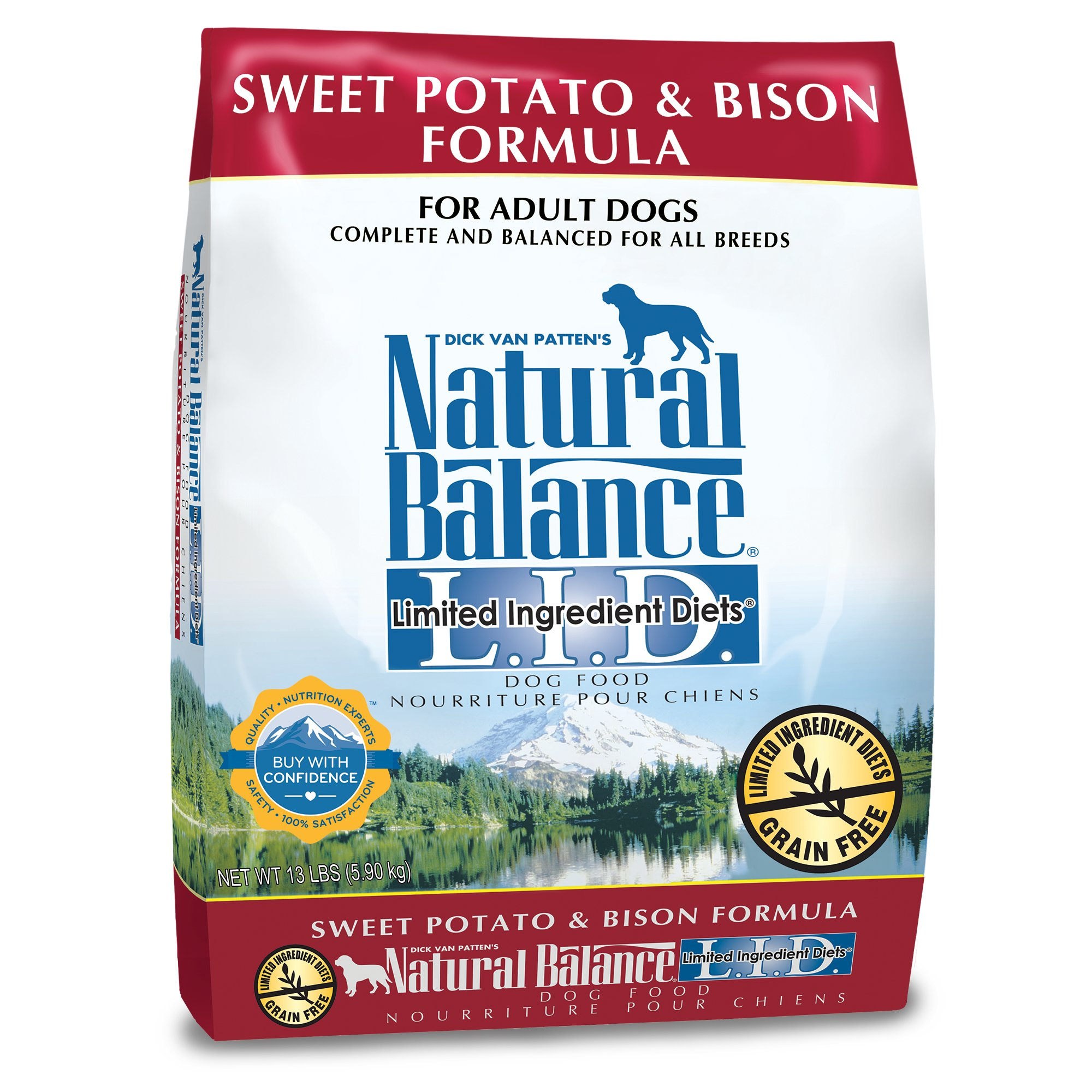 Natural Balance L.I.D. Limited Ingredient Diets Sweet Potato & Bison Dog Food