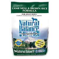 Natural Balance L.I.D. Limited Ingredient Diets Lamb Meal & Brown Rice Dog Food
