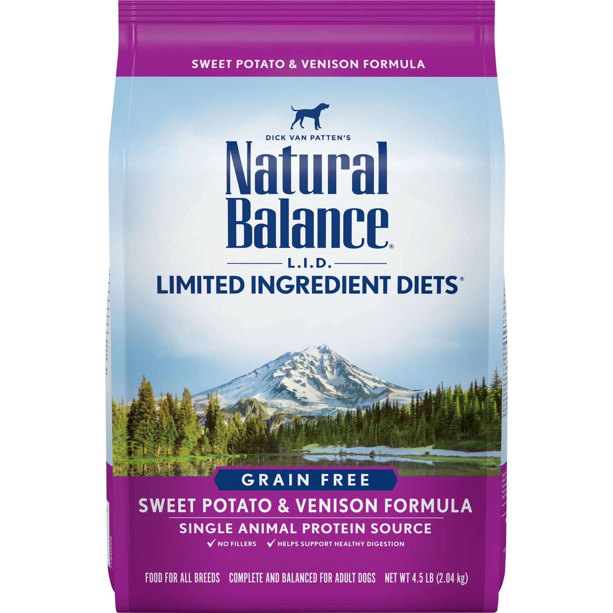 Natural Balance L.I.D. Limited Ingredients Diets Sweet Potato & Venison Dog Food