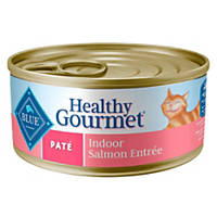 Blue Buffalo Healthy Gourmet Pate Indoor Salmon Adult Canned Cat Food
