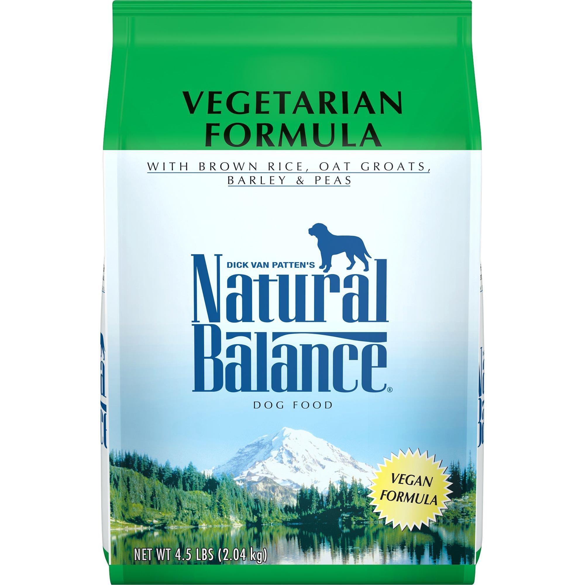 natural balance vegetarian formula dog food 14 lbs