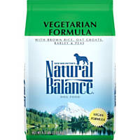 Natural Balance Vegetarian Formula Dog Food