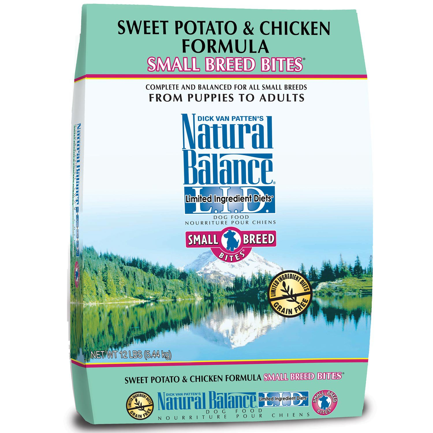 Natural Balance Potato and Duck Dry Dog Food