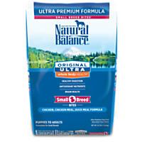 Natural Balance Small Bites Original Ultra Whole Body Health Dog Food