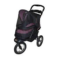 Pet Gear NV No-Zip Pet Stroller in Rose